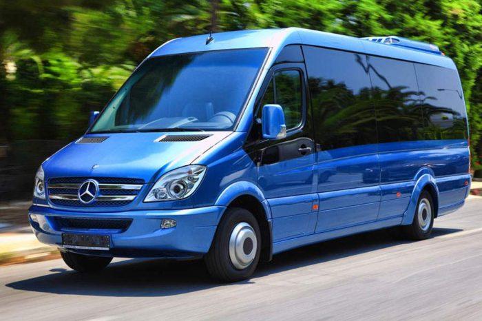 Mercedes Sprinter Blue